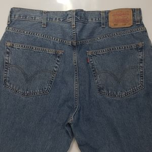 Mens Levi's 550 relaxed fit sz  38x30